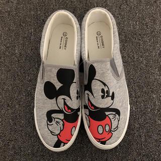 ディズニー(Disney)のなな様専用  新品未使用  ミッキー  スリッポン(スリッポン/モカシン)