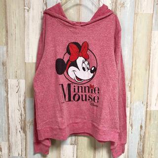 ディズニー(Disney)の【送料込み】【フォロー割】アメリカ古着 ミニーマウス ディズニー パーカー(パーカー)