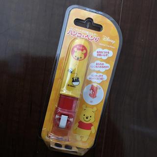ディズニー(Disney)のシャチハタ プーさん 印鑑ホルダー(印鑑/スタンプ/朱肉)