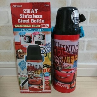 ディズニー(Disney)の箱付新品❗カーズ 2way ステンレスボトル 600(水筒)