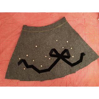 エミリーテンプルキュート(Emily Temple cute)のエミリーテンプルキュート♡パールリボンプリーツスカート(ミニスカート)