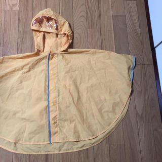 ムジルシリョウヒン(MUJI (無印良品))のキッズ ベビー レインポンチョ セット 無印良品 タキヒヨー(レインコート)