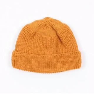 ネペンテス(NEPENTHES)のLEUCHTFEUER   ニット帽  新品未使用品(ニット帽/ビーニー)