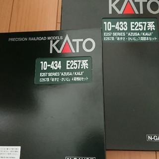 カトー(KATO`)のkato カトー 10-433. 10-434 あずさ、かいじ基本+増結セット(模型/プラモデル)