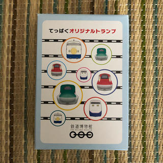 ジェイアール(JR)の非売品 新品未使用 鉄道博物館オリジナルトランプ(鉄道)