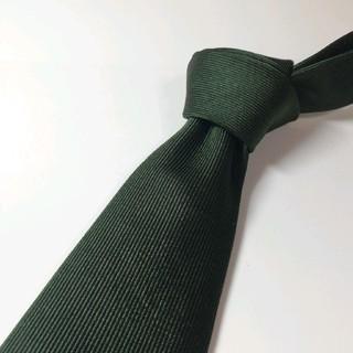 ドレイクス(DRAKES)の【美品】ドレイクス ビームスF 別注 ネクタイ 深緑(ネクタイ)