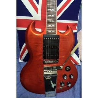 ギブソン(Gibson)のGibson SG deluxe 板バネアーム(エレキギター)