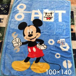 ディズニー(Disney)のハーフケット ミッキー 100×140(毛布)