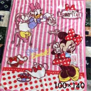 ディズニー(Disney)のハーフケット ミニー デイジー 100×140(毛布)