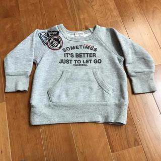 ティンカーベル(TINKERBELL)の【TINKERBELL】トレーナー 100cm(Tシャツ/カットソー)