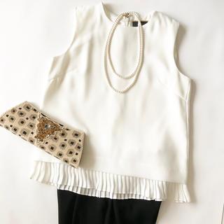 ミラオーウェン(Mila Owen)の新品タグ付♡フォーマルウエア♡オフホワイト(スーツ)