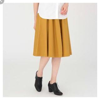 ムジルシリョウヒン(MUJI (無印良品))の無印良品 ダンプイージースカート(ひざ丈スカート)