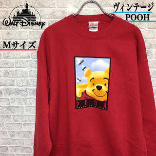 ディズニー(Disney)のヴィンテージDisney pooh プーさん スウェット Mサイズ(スウェット)