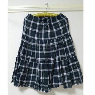 キューティーブロンド(Cutie Blonde)のキューティーブロンド チェック柄スカート(ひざ丈スカート)