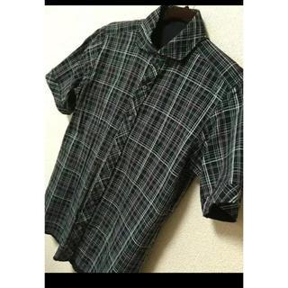 オフオン(OFUON)のofuon   メンズシャツ  reversible(シャツ/ブラウス(半袖/袖なし))