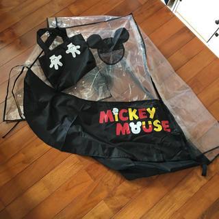 ディズニー(Disney)のディズニーランドで買ったカートカバー、シートカバー(ベビーカー用アクセサリー)