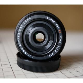 富士フイルム - FUJIFILM FUJINON XF27mm 富士フイルム 単焦点レンズ