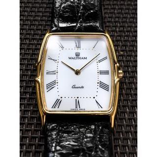 ウォルサム(Waltham)の腕時計 WALTHAM ウォルサム 美品~極上品 ベルト付(腕時計(アナログ))
