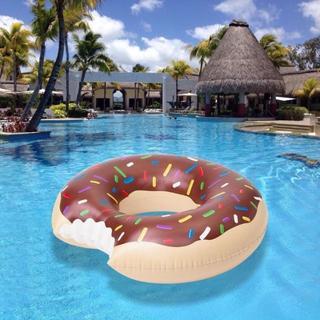 送料無料♪120センチサイズ チョコレート浮き輪(その他)
