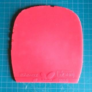 バタフライ(BUTTERFLY)のテナジー80  赤(卓球)