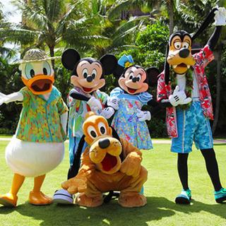 ディズニー(Disney)の1ベッドルームヴィラ 2月〜4月☆二泊三日☆(宿泊券)