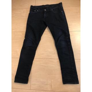 ヌーディジーンズ(Nudie Jeans)のNudie Jeans ブラックスキニー黒デニム ヌーディージーンズ レディース(デニム/ジーンズ)