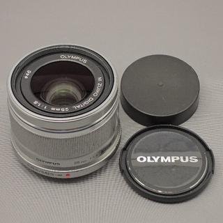 オリンパス(OLYMPUS)のやっくん様専用 M.ZUIKO DIGITAL25mmF1.8シルバー(レンズ(単焦点))