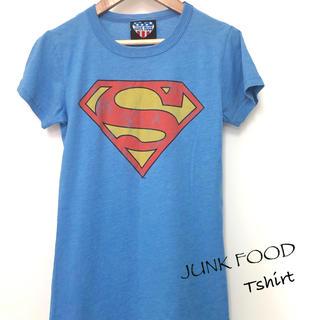 ジャンクフード(JUNK FOOD)の【JUNK FOOD Tシャツ】ジャンクフード SUPERMAN(Tシャツ(半袖/袖なし))