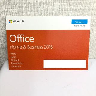 Microsoft - マイクロソフト Office Home & Business 2016