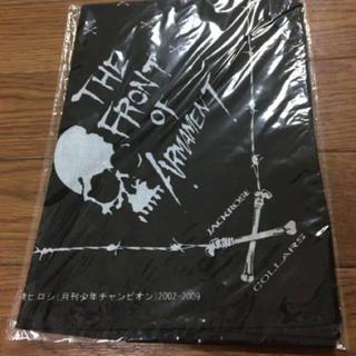 ジャックローズ(JACKROSE)のJACKROSE COLLARS 高橋ヒロシ チャンピオン 黒 ブラック(ハンカチ/ポケットチーフ)