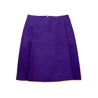 コス(COS)のCOS コス 台形スカート パープル(ひざ丈スカート)