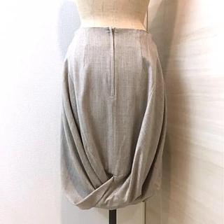 デミルクスビームス(Demi-Luxe BEAMS)のサポートサーフェス 後ろデザインスカート support surface(ひざ丈スカート)