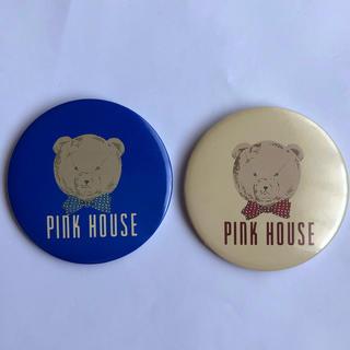 ピンクハウス(PINK HOUSE)のピンクハウス くまの缶バッジ 2個セット 新品(その他)