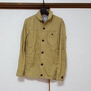 ティーケー(TK)のTK☆メンズミリタリーシャツ2 ベージュ(シャツ)