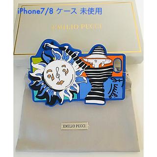 エミリオプッチ(EMILIO PUCCI)の未使用 エミリオ プッチ iPhone ケース ( iPhone 7/8用)(iPhoneケース)