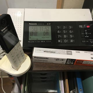 パナソニック(Panasonic)のパナソニックfax KX-PD101と子機とインクフィルム(オフィス用品一般)