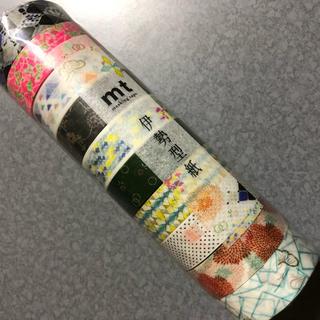 エムティー(mt)のmt×伊勢型紙 コンプリートセット(テープ/マスキングテープ)