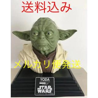 ディズニー(Disney)のスターウォーズ 世界限定5000体 yoda ヨーダ ライフサイズバスト 等身大(SF/ファンタジー/ホラー)