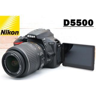 Nikon - ★自撮り&WiFi対応 SDカード付き♪ ニコン D5500レンズセット★