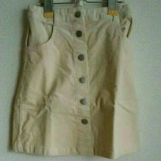 セシール(cecile)のボタンスカート M(その他)