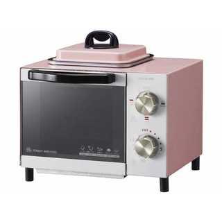★超便利★コイズミ 目玉焼き機能付きオーブントースター ピンク(電子レンジ)