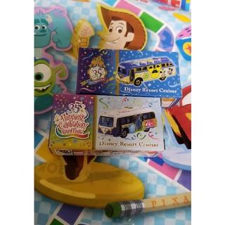 ディズニー(Disney)のディズニー×トミカ/2種類セット(ミニカー)