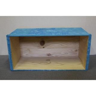 【在庫商品 56】小物類のディスプレイや靴収納に!ふた無しりんご箱(家具)