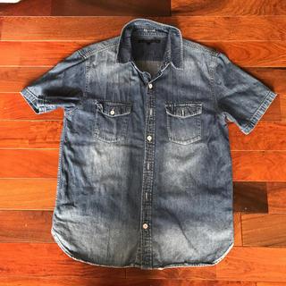 イーブス(YEVS)のYEVS 半袖デニムシャツ M (Tシャツ/カットソー(半袖/袖なし))