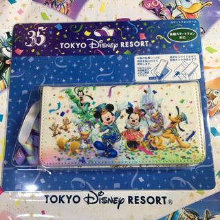 ディズニー(Disney)のディズニー 35周年 ハピエストセレブレーション スマートフォンケース(スマホケース)