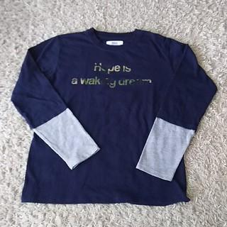 イッカ(ikka)のikka 重ね着風 ロンT (Tシャツ/カットソー)