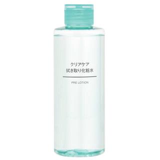 ムジルシリョウヒン(MUJI (無印良品))の無印 クリアケア拭き取り化粧水(化粧水 / ローション)