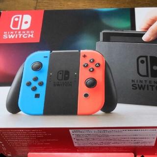 ニンテンドースイッチ(Nintendo Switch)の任天堂 スイッチ 本体  (家庭用ゲーム機本体)