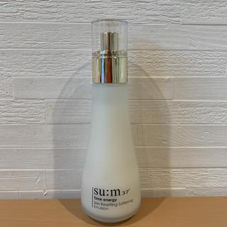 スム(su:m37°)のスム37 タイムエナジーSRソフトニングエマルジョン(乳液 / ミルク)