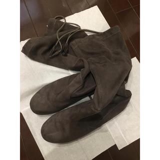 ムジルシリョウヒン(MUJI (無印良品))の折りたたみブーツ(ブーツ)